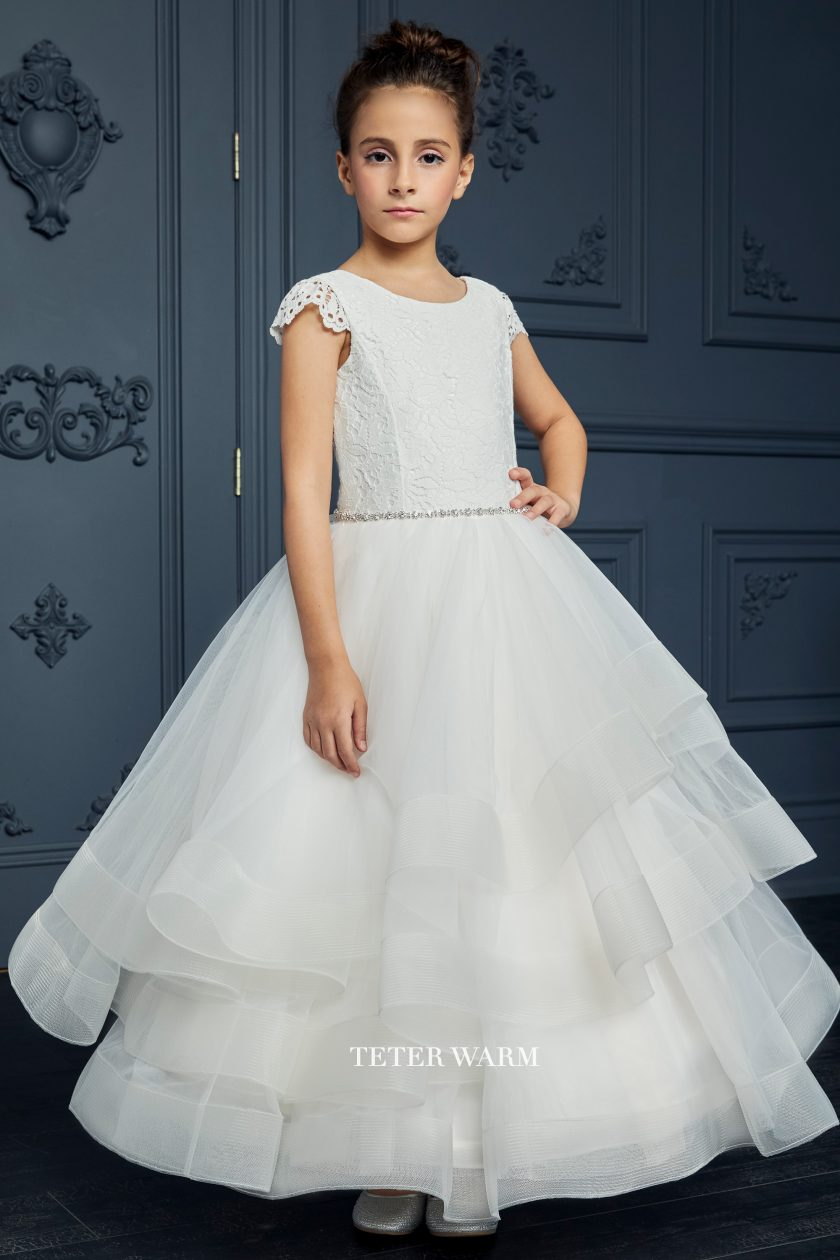 212 Teter Warm Communion/ Flower Girl Dress