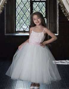 7804 Macis Design Flower Girl Sample Dress