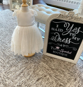 B64 Teter Warm Christening/Flower Girl Dress