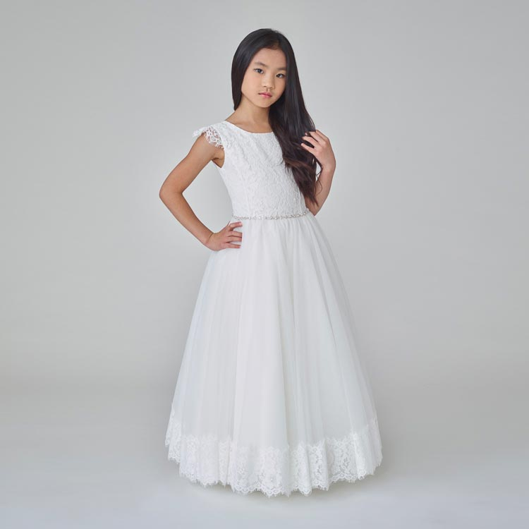 907B Teter Warm Communion/ Flower Girl Dress