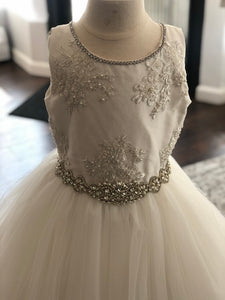 Brianna Christie Helene Couture Communion Dress 2019 SAMPLE SIZE 8 IN STOCK NOW