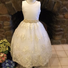 Marguerite Couture Communion Dress - Christie Helene Sample Size 8