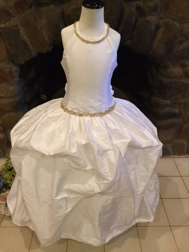 Faith Couture Communion Dress - Christie Helene Sample Size 7