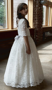 G07 Teter Warm Communion/ Flower Girl Dress  SOLD OUT