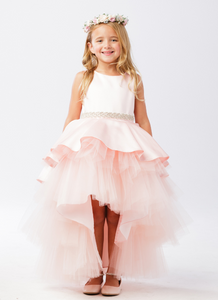 The Kayla High Low Flower Girl Dress