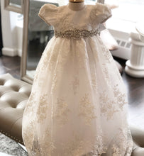 Miliana Christening Couture Dress - Christie Helene