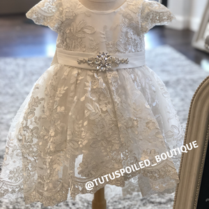 Princess Leah Christening Dress