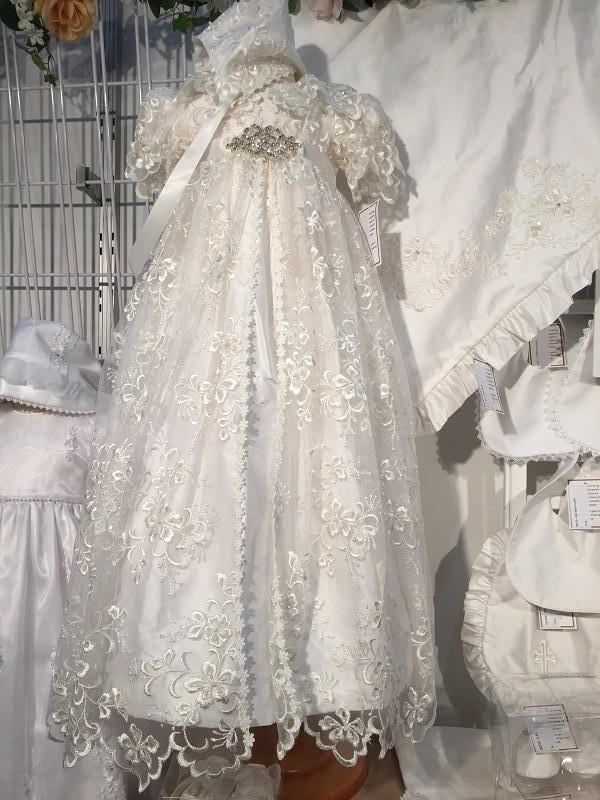 LPety Canar Victoria Christening Gown