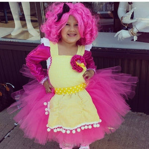 Crumbs Lalaloopsy Inspired Tutu Dress