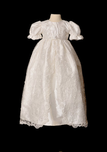 Sweetie Pie Christening Gown Lily 12 mths IN STOCK NOW