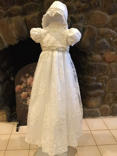 Christie Helene Martina Christening Gown