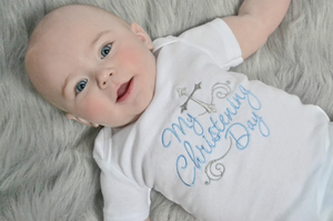 My Christening Day Boy Shirt