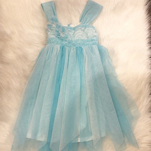 Isobella & Chloe Big Girl Ocean Dress Size 5