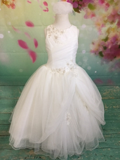 P1373 Christie Helene 2019 Communion Dress SIZE 8 AND  10 IN STOCK NOW