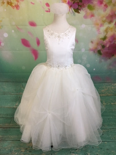 P1432 Christie Helene 2019 Communion Dress SIZE 6, ,8 AND 10 IN STOCK NOW