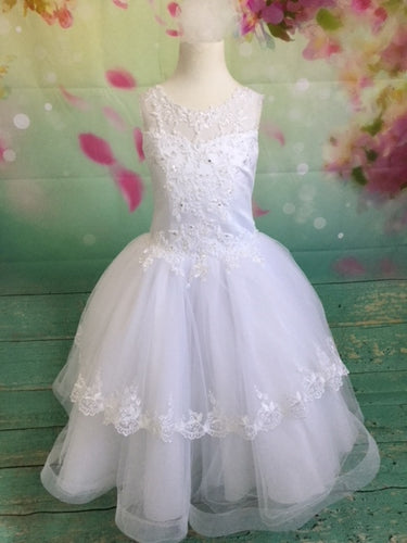P1533 Christie Helene Communion Dress Size 8 IN STOCK NOW