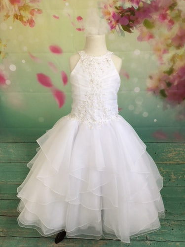 P1535 Christie Helene Communion Dress Size 8 IN STOCK NOW