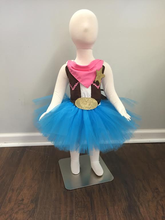 Sheriff Callie Inspired Tutu Dress