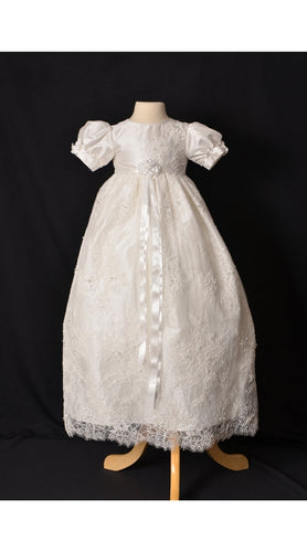 Sweetie Pie Christening Gown Rose