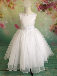 UF7146 Christie Helene Communion Dress Size 6  AND 7 IN STOCK NOW