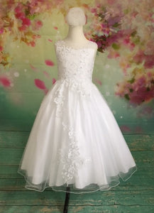 UF8037 Christie Helene Communion Dress COMMUNION 2020 Size 6,7,10, 10 1/2 and 12 in STOCK NOW