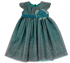 Winter Sparkle Dress 9 mths - Isobella Chloe