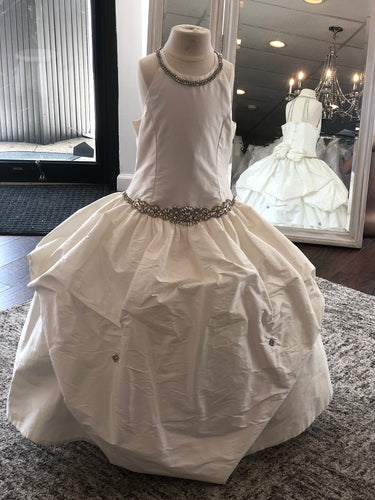 Belini Mia Christie Helene Couture Communion Dress  SAMPLE SIZE 8 IN STOCK NOW