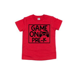 Game on PreK Shirt for Boys