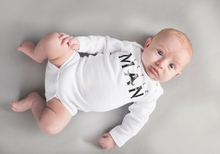 Little Man Boy Onesie