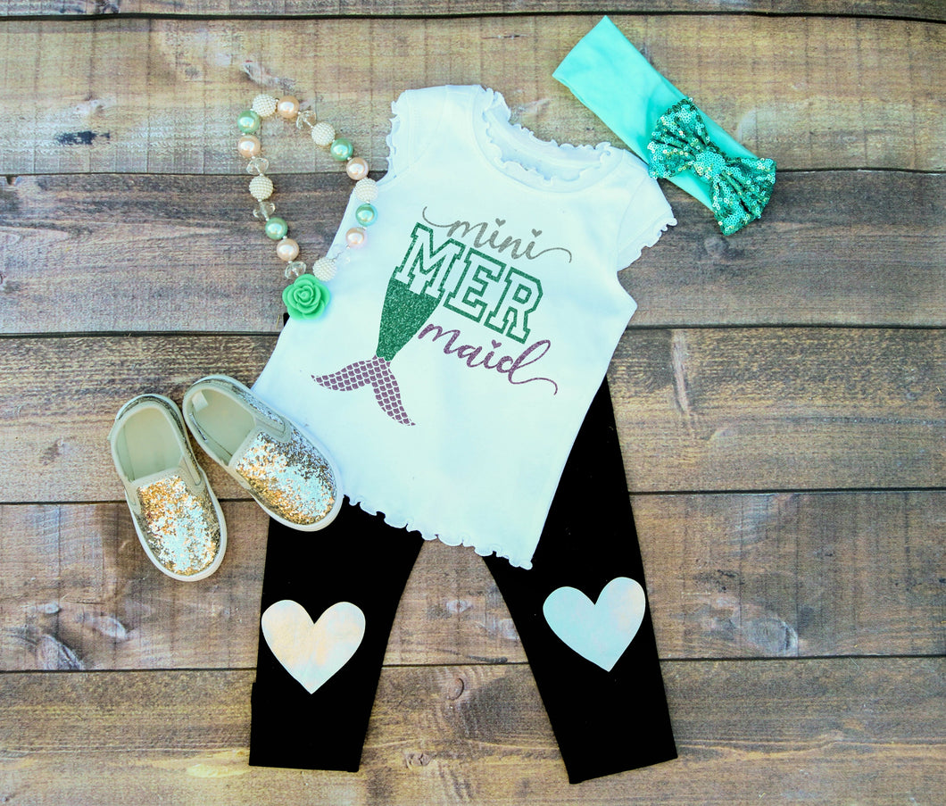Mermaid Mini Glitter Shirt