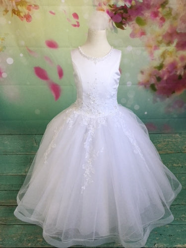P1434 Christie Helene 2019 Communion Dress - IN STOCK SIZE 8 NOW