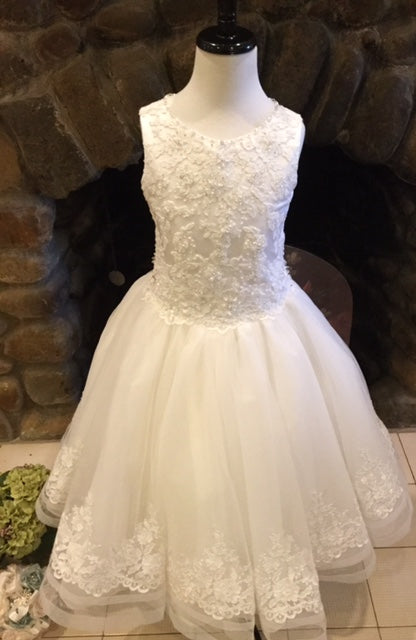 P1474 Christie Helene 2019 Communion Dress IN STOCK NOW SIZE 8