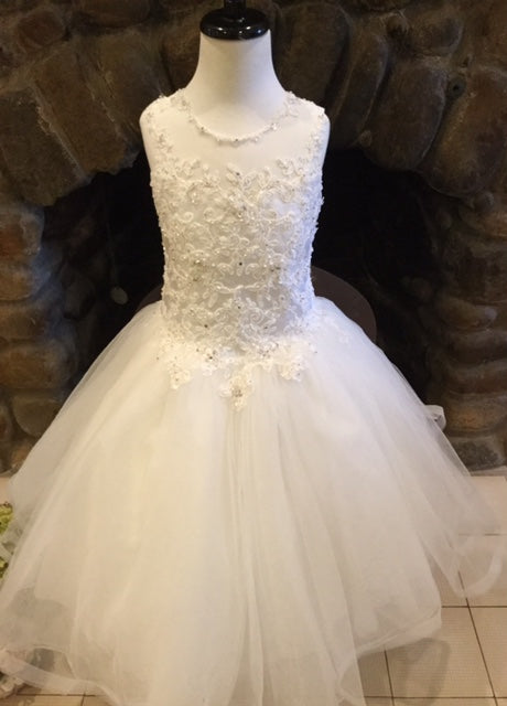 P1489 Christie Helene 2019 Communion Dress Size 7,8 AND 10 in Stock NOW