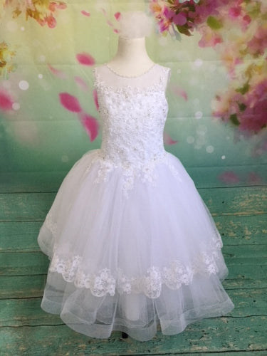 P1527 Christie Helene Communion Dress Size 8 AND 10 IN STOCK NOW