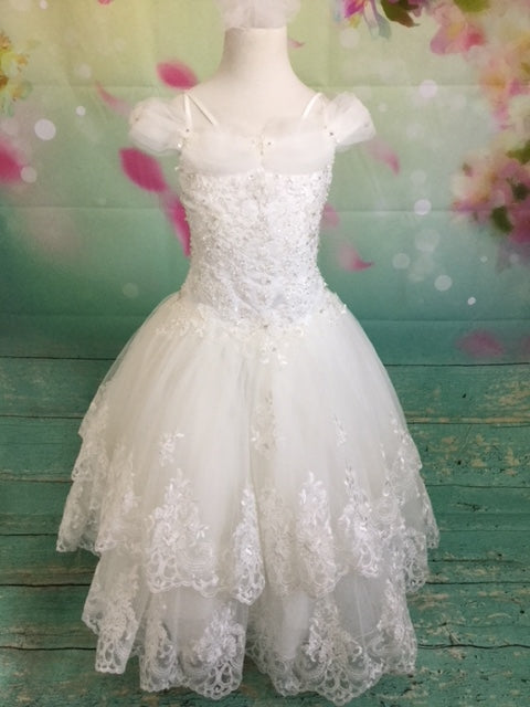 P1537 Christie Helene 2019 Communion Dress IN STOCK NOW SIZE 8
