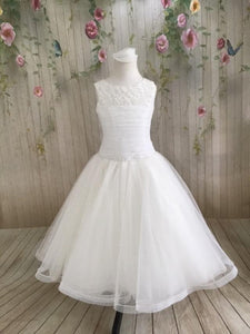 P1596 Communion Dress - Elite Christie Helene COMMUNION 2020 Size 7 in STOCK NOW