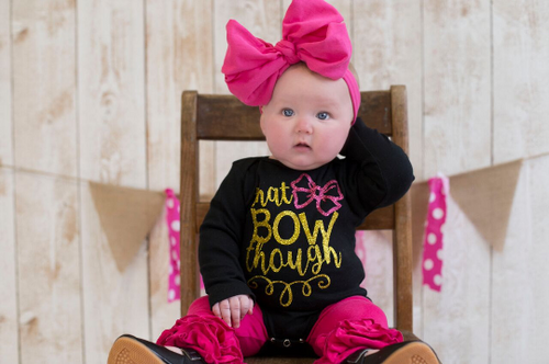 That Bow Though Shirt