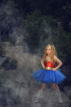 Wonder Women Inspired Tutu Dress