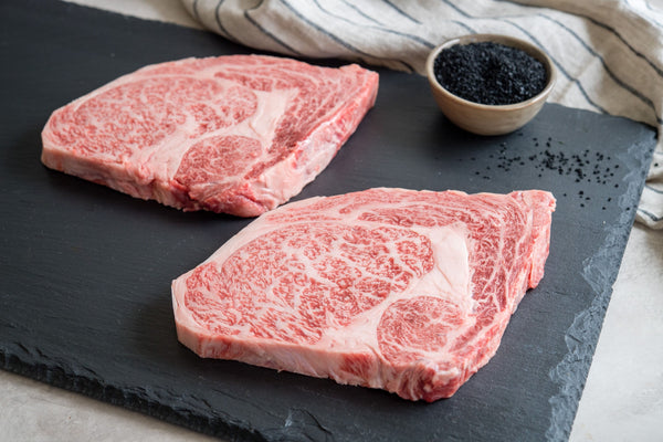 Beefer Infrared Grill and A-5 Japanese Hokkaido Wagyu Ribeye