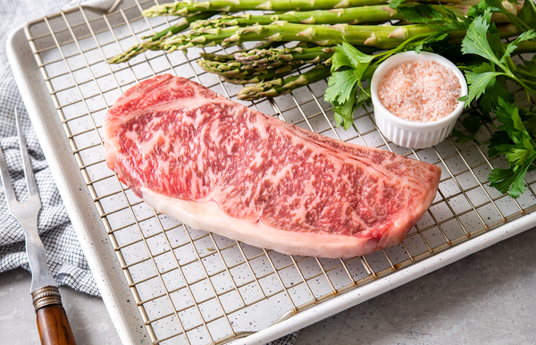 Olive Wagyu | A4 Wagyu Beef Striploin Steak