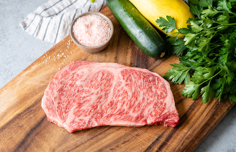 Olive Wagyu | A5 Wagyu Beef Striploin Steak