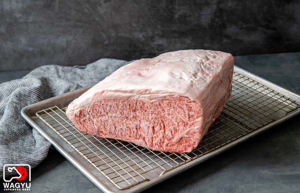 Miyzakigyu | A5 Wagyu Beef Whole Boneless Striploin Strip End | The Wagyu Shop