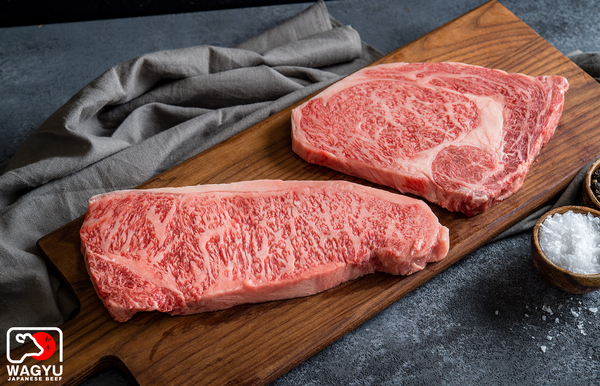 A5 Japanese Wagyu Beef Striploin and Ribeye Steaks | Authentic Japanese Wagyu Beef | The Wagyu Shop