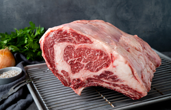 Natural American Wagyu Beef Whole Bone-In Ribeye Roast