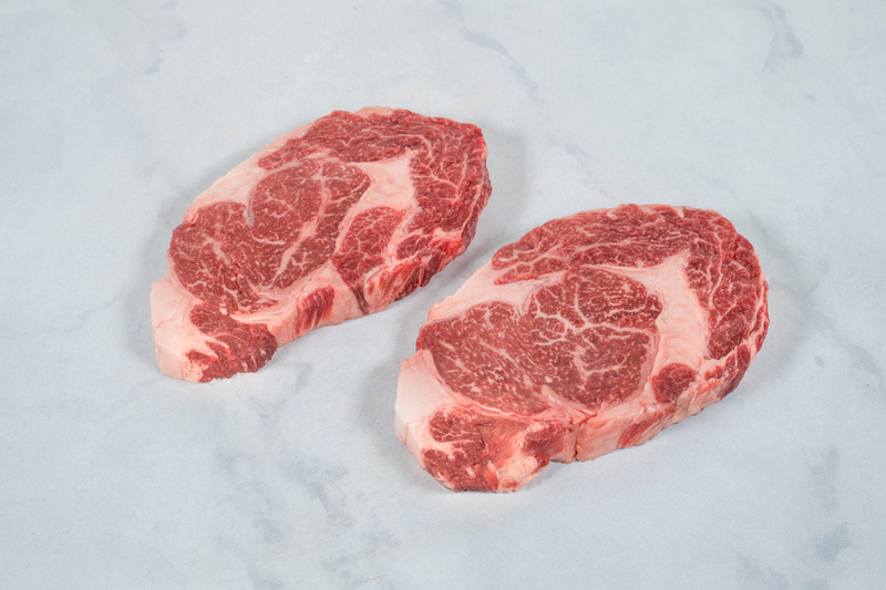 American Wagyu Beef Portioned Ribeye Steaks