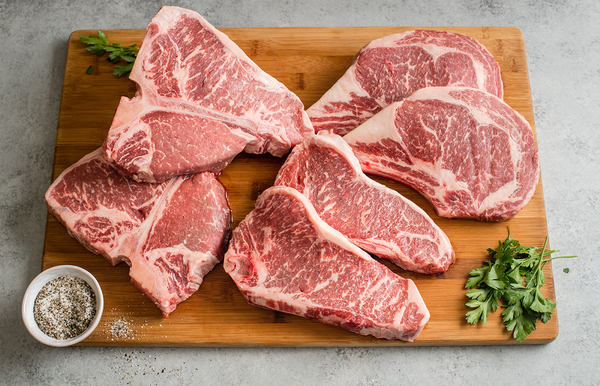Bone In Ribeye | Bone In Striploin | Bone In Porterhouse | The Wagyu Shop