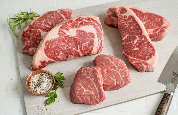 USDA Prime Angus Boneless Steaks | The Wagyu Shop