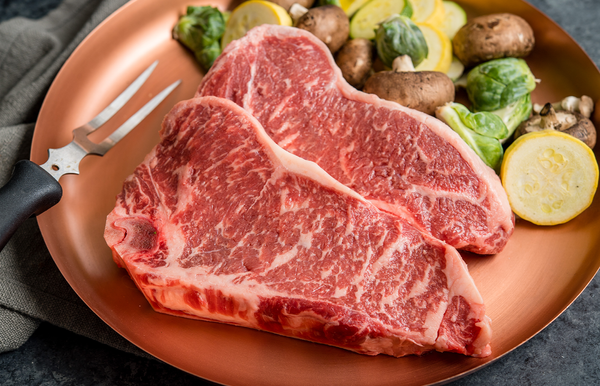 USDA Prime Angus Bone In Striploin Steak | Prime Bone In Striploin Steak | The Wagyu Shop