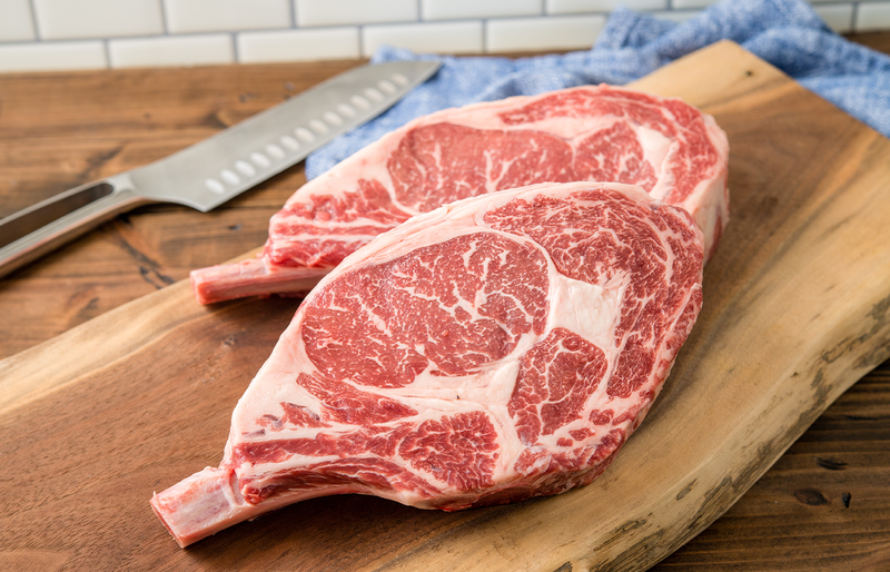 USDA Prime Angus Cowboy Steak | Prime Bone In Ribeye Cowboy Steak | The Wagyu Shop