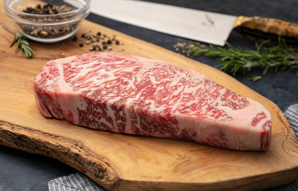 Australian Wagyu Beef Portioned Striploin Steak